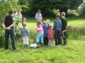 Group of children at Cloncannon Biofarm
