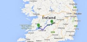 Map with Location of Cloncannon Biofarm